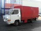 camión caja abierta Nissan usado