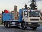 DAF CF 85.410 / 6x4/ HDS PALFINGER PK18500 / truck