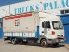 camión lona corredera (tautliner) sistema de lona corrediza Nissan usado
