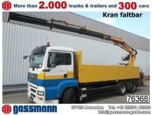 camion piattaforma MAN usato