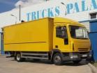 camión furgón Iveco usado