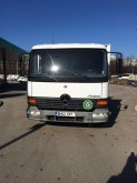 camion camion platforma cu prelata si obloane Mercedes second-hand