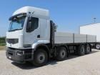 camion trasporto macchinari Renault usato