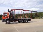 camión maderero Iveco usado