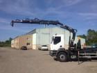 used Renault hook lift truck
