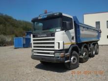 camion cu prelata si obloane Scania second-hand