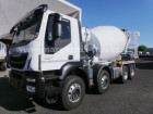 Iveco AD 340 T 41 B Stetter AM 9 FHC UltraEco 8x4 EUR6 truck