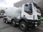 Iveco AD 340 T 36 B Stetter AM 9 FHC UltraEco 8x4 EUR6 truck