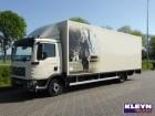 MAN TGL 12.210 ISOLATED BOX truck