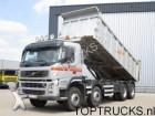 vrachtwagen Volvo FM 420 8X4 TIPPER MANUAL 18.5 M3 EURO 3