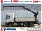 camion Mercedes Actros 2641 K 6x4 mit Kran Palfinger Epsilon