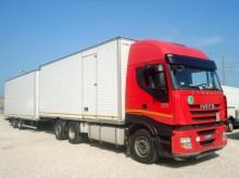 Iveco Stralis STRALIS AS 260S50 PS EURO 5 FURGONE + BIGA truck