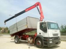 Iveco Stralis STRALIS AD 190S27 K GRU + RIBALTABILE PER CEREALI truck