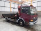 Mercedes ATEGO 815, 7.5 TONNE DROPSIDE FLATBED/CRANE - 2000 - W582 PFS truck
