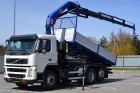 used Volvo three-way side tipper truck