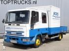 tweedehands vrachtwagen laadplateau Iveco