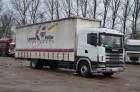 ciężarówka firanka Scania używana