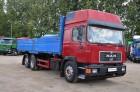 ciężarówka platforma MAN używana