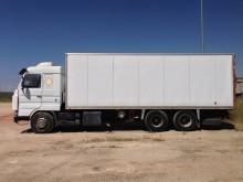 camión furgón Scania usado