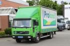 gebrauchter Volvo LKW Pritsche und Plane Schiebeplanenaufbau