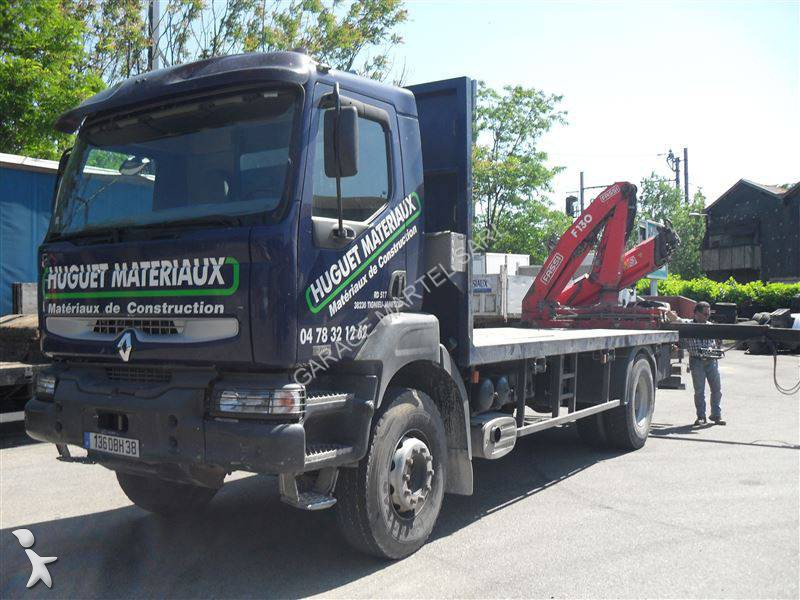 Camion renault plateau standard kerax 370 dci 4x2 gazoil for Garage martel grigny