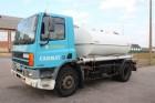DAF 75 ATI 240 - WATER TANKER / CITERNE A EAU - 10.000 L- STEEL SPRI truck