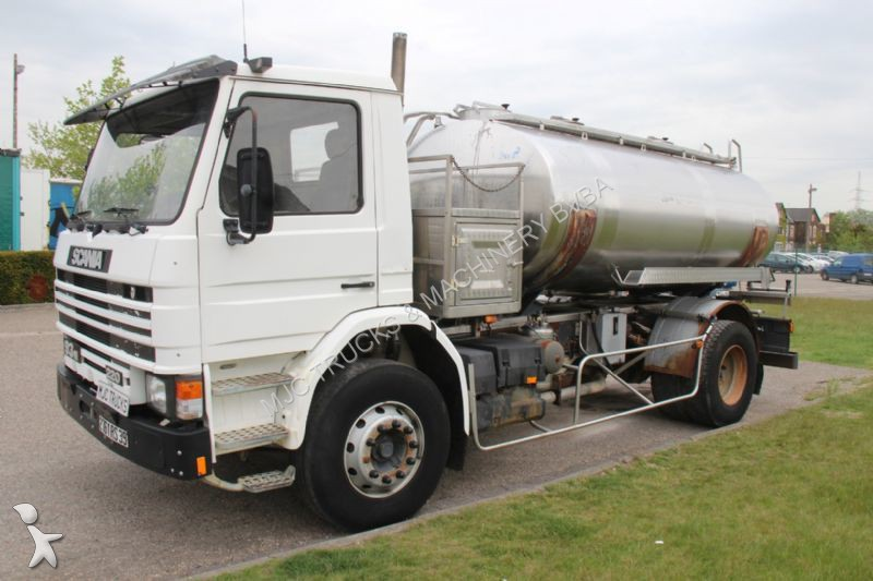 Camion Scania Citerne 93 220 Water Tanker Citerne A