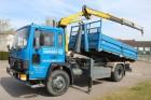 camion Volvo FL6-14 containersysteem + kraan - top conditie!