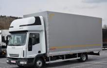 ciężarówka firanka Iveco używana