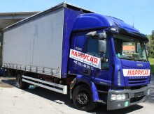 camion camion cu prelata culisanta si obloane Iveco second-hand