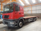camión caja abierta estándar ERF usado