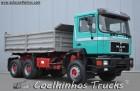 camião basculante MAN usado