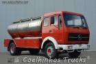 camião cisterna Mercedes usado