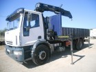 camión caja abierta Iveco usado