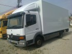 camião furgão Mercedes usado