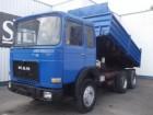 used MAN three-way side tipper truck