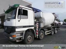 used Mercedes concrete mixer truck