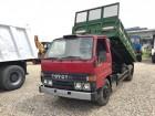 camión volquete trilateral Toyota usado