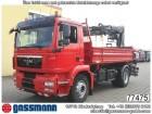 camion MAN TGM 18.340BL 4x2 Kipper mit Kran Hiab 111-3