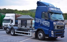 Volvo FH FH 13 460 KM / EURO 5 / 6x2 / 3 osie / Rama Pod Zabudowę BDF truck
