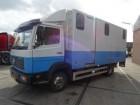 Mercedes 814 MANUEL/STEEL/PAARDENTRANSPORT/ truck