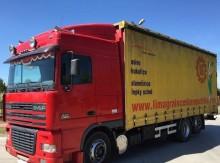 DAF XF 95.430 SPACE CAB MANUAL RETARDER KLIMA JUMBO 7.40m FIRANKA 20 truck