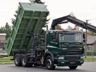 DAF CF 85.360 / 2 STR WYWROTKA / 6x4 / HYDROBURTA/ HDS truck