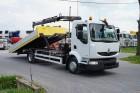 ciężarówka Renault MIDLUM / 190.12 / POMOC DROGOWA + HDS