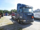 camion telaio Scania incidentato