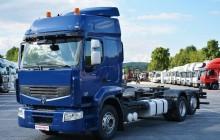 ciężarówka Renault Premium Premium 450 DXI / E5 / 6x2 / Rama BDF