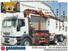Iveco Stralis 260S43 6x2 mit Kran Atlas 165.2E Autom. truck