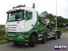 camion Scania R 420 8X4HNZ MANUAL E5 SC