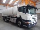 Scania P340 REAR STEER DRAWBAR SPEC MILK TANKER - 2008 - WA08 DXU truck