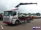 Scania P 114.340 RETARDER HIAB 085 truck